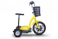 EWheels EW-18 Stand-N-Ride Recreational Scooter Yellow