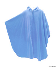 Silvert's 271001701 Mens Wheelchair Cape & Womens Adaptive Wheelchair Cape Clothing , Size ONE, FRENCH BLUE