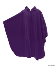 Silvert's 271000501 Mens Wheelchair Cape & Womens Adaptive Wheelchair Cape Clothing , Size ONE, PLUM
