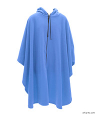 Silvert's 271001301 Mens Wheelchair Cape & Womens Adaptive Wheelchair Cape Clothing , Size ONE, STEEL BLUE