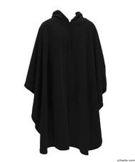 Silvert's 271000701 Mens Wheelchair Cape & Womens Adaptive Wheelchair Cape Clothing , Size ONE, BLACK
