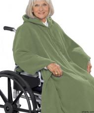 Silvert's 271000401 Mens Wheelchair Cape & Womens Adaptive Wheelchair Cape Clothing , Size ONE, KHAKI