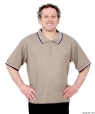 Silvert's 507100201 Adaptive Clothing Men , Size Small, BEIGE