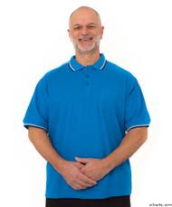 Silvert's 507100501 Adaptive Clothing Men , Size Small, COBALT BLUE