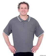 Silvert's 507100701 Adaptive Clothing Men , Size Small, GREY