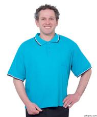 Silvert's 507100602 Adaptive Clothing Men , Size Medium, AQUA