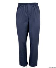 Silvert's 507910103 Full Elastic Waist Pants For Men , Size 3X-Large, NAVY