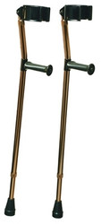 Crutches Forearm Deluxe Ortho adjustable Large - Tall
