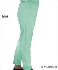 Silvert's 141200802 Regular Fleece Tracksuit Pants For Women , Size Small, MINT