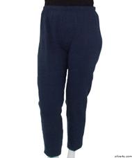 Silvert's 141200202 Regular Fleece Tracksuit Pants For Women , Size Small, NAVY