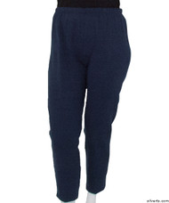 Silvert's 141200205 Regular Fleece Tracksuit Pants For Women , Size X-Large, NAVY
