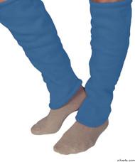Silvert's 302601002 Women's Cozy Leg Warmers & Ankle Warmers , Size Small, STEEL BLUE