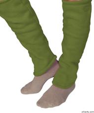 Silvert's 302600602 Women's Cozy Leg Warmers & Ankle Warmers , Size Small, KIWI