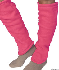 Silvert's 302600802 Women's Cozy Leg Warmers & Ankle Warmers , Size Small, PINK