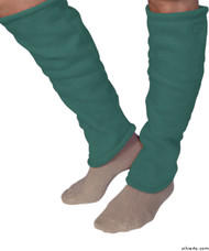 Silvert's 302600402 Women's Cozy Leg Warmers & Ankle Warmers , Size Small, TURQUOISE