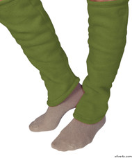 Silvert's 302600604 Women's Cozy Leg Warmers & Ankle Warmers , Size Large, KIWI