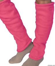 Silvert's 302600804 Women's Cozy Leg Warmers & Ankle Warmers , Size Large, PINK