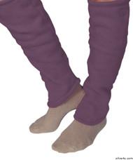 Silvert's 302600904 Women's Cozy Leg Warmers & Ankle Warmers , Size Large, PLUM