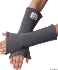 Silvert's 302801901 Arm Protectors , Size ONE, SILVER