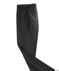Silvert's 501900208 Mens Washable Dress Pants , Size 42, BLACK