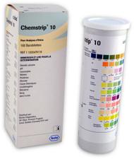 Roche 11203479119 Chemstrip 10 Urine Test Strips 100/Botle