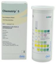 Roche 11893467119 Chemstrip 5 Urine Test Strips 100/btl