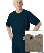 Silvert's 508300502 Mens' Alzheimers Clothing , Size Small, NAVY