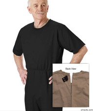 Silvert's 508300202 Mens' Alzheimers Clothing , Size Small, BLACK