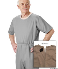 Silvert's 508300403 Mens' Alzheimers Clothing , Size Medium, GREY