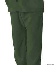 Silvert's 518100302 Mens Easy Access Clothing Polar Fleece Pants , Size Small, KHAKI