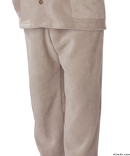 Silvert's 518100602 Mens Easy Access Clothing Polar Fleece Pants , Size Small, BEIGE