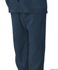 Silvert's 518100404 Mens Easy Access Clothing Polar Fleece Pants , Size Large, NAVY