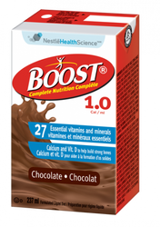 Nestle Nutrition 9521635 Boost 1.0 Standard Chocolate 237ml (8oz) tetras 27/Case