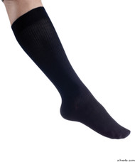 Silvert's 193300201 Womens Mild Compression Knee Sock , Size ONE, NAVY