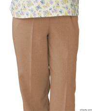 Silvert's 232200402 Womens Adaptive Open Back Wheelchair Pants , Size Medium, CAMEL