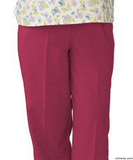 Silvert's 232200204 Womens Adaptive Open Back Wheelchair Pants , Size X-Large, ORCHID
