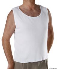 Silvert's 280250102 Mens Adaptive Clothing , Size Small, WHITE