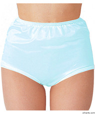 Silvert's 180310505 Womens Nylon Briefs , Size X-Large, BLUE