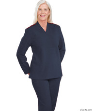 Silvert's 252500302 Plus Size Adaptive Tracksuit For Women , Size Medium, NAVY
