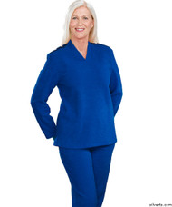 Silvert's 252500103 Plus Size Adaptive Tracksuit For Women , Size Large, COBALT