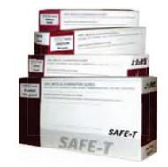 Disposamed FVG402 SAFE-T VINYL LIGHTLY Powdered Gloves Medium 1000/Case