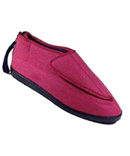 Silvert's 103000214 Adjustable Ezi Fit Slipper For Women, Size 12, PINK