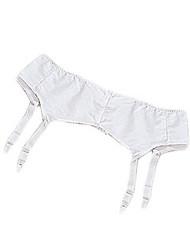Silvert's 185000101 Womens Garter Belt, Size 18, WHITE