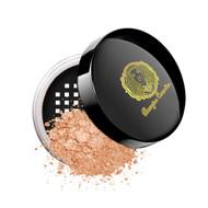 Bougiee BELB050 Loose Mineral Blush-Icing Sugar Jar Sunrise Shimmering Yellow Gold Peach
