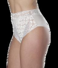 Wearever L109-WHITE-LG Women's Lace Incontinence Panties