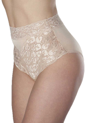 Wearever L109-IVORY-MED-3PK Women's Lace Incontinence Panties 3 PACK