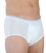 Wearever HDM200-WHITE-XL-3PK Men's Incontinence Boxer Briefs, 3 Pack