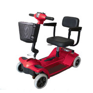 Zip'r 4-Wheel Traveler Mobility Scooter Red - Free Shipping in Canada
