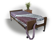 """Drive 14027 Med-Aire 8"""" Alternating Pressure and Low Air Loss Mattress System"""