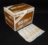 BD 305111 PRECISIONGLIDE Needle STERILE CONVENTIONAL Needle Hypodermic 26G x 0.5""